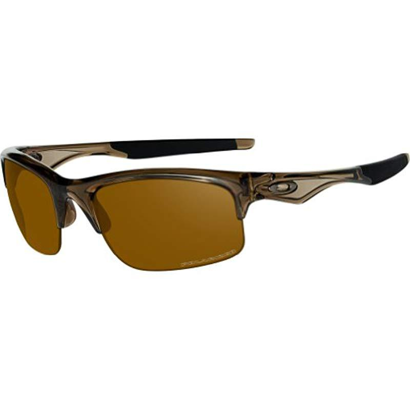 cd4f95bdc17 Oakley. Mens Bottle Rocket Oo9164-14 Polarized Sport Sunglasses