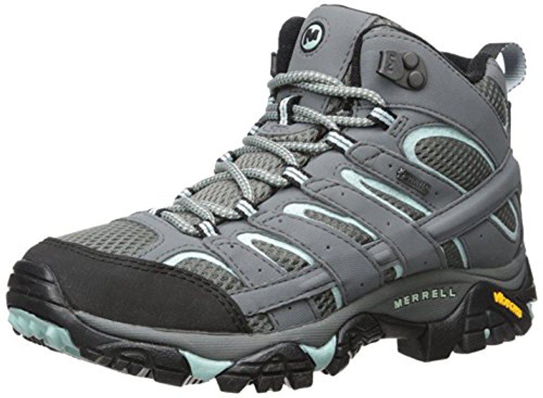 753e5edb Merrell - Multicolor Moab 2 Mid Gtx Hiking Boot for Men - Lyst. View  fullscreen
