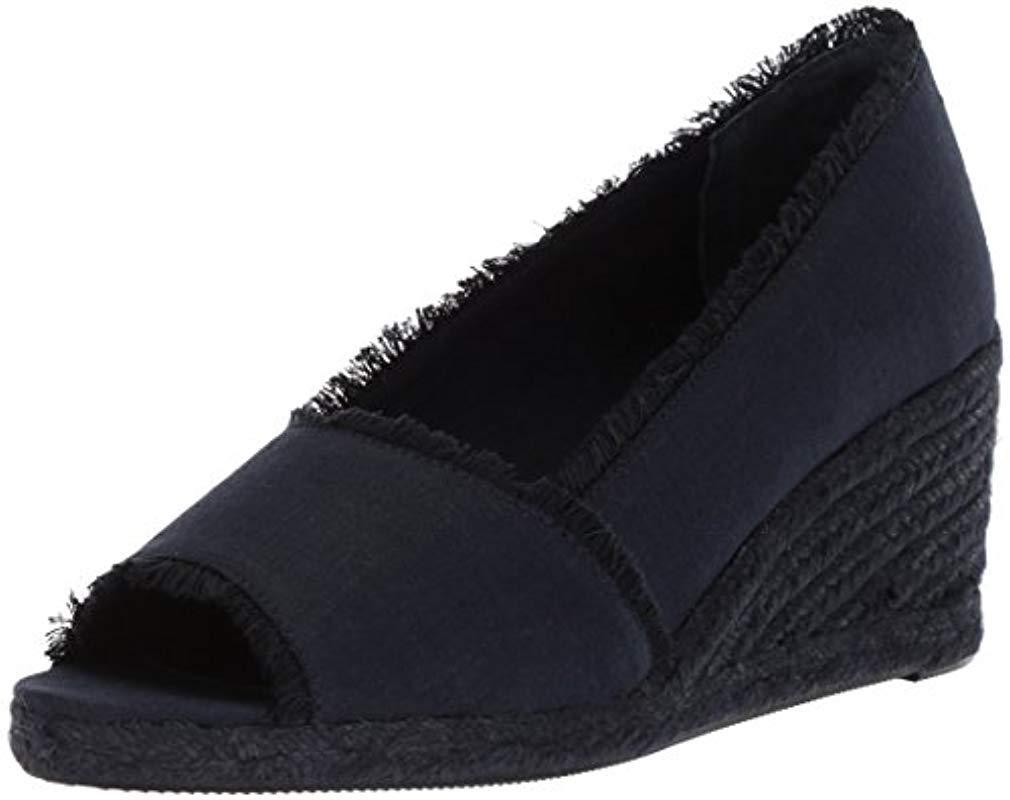 0098d86a87cb Lauren by Ralph Lauren. Women s Blue Carmondy-es-csl Espadrille Wedge Sandal