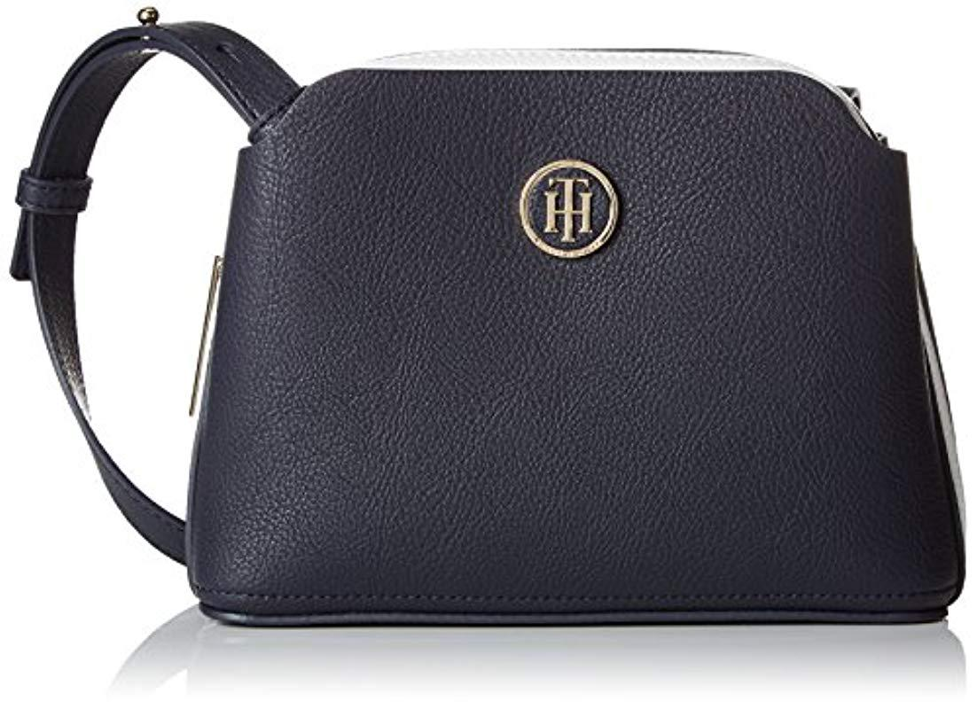 f5b7303149 Tommy Hilfiger Th Core Crossover Cross-body Bag in Blue - Lyst