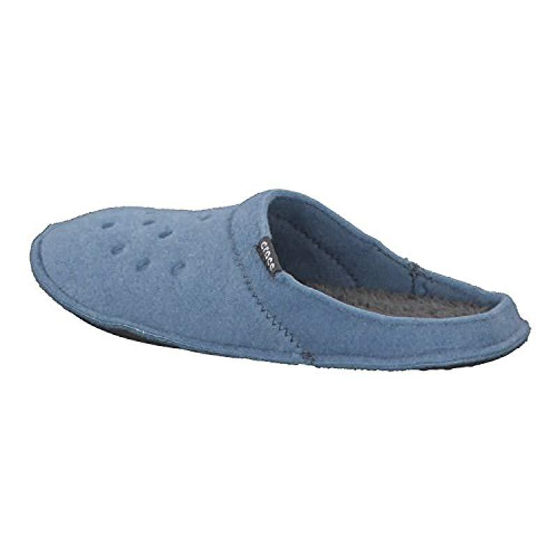 e8688b80621ba Crocs™ Classic 203600 Unisex Adult Slippers in Blue for Men - Lyst