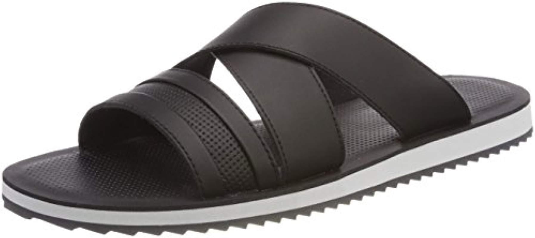 721a439db55 ALDO Agreillan Open Back Slippers in Black for Men - Lyst