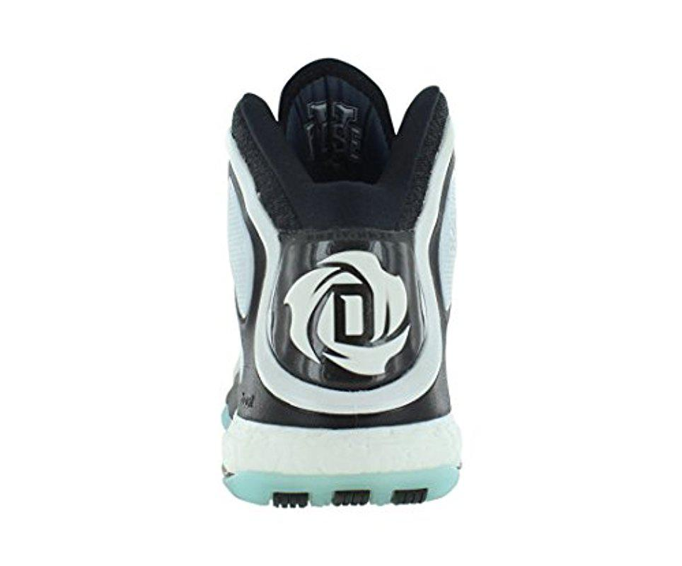 sports shoes da105 17275 Adidas - Black Performance D Rose 5 Boost Basketball Shoe for Men - Lyst.  View fullscreen