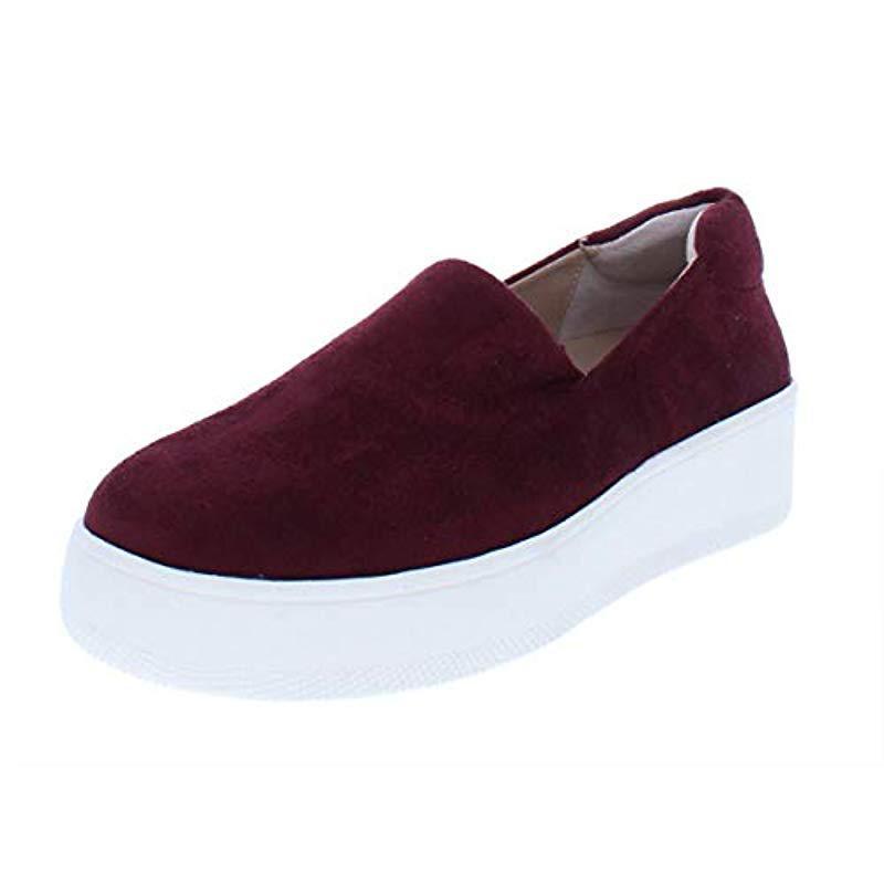c1bbdd82766 Lyst - Steven By Steve Madden Hilda Fashion Sneaker in Red