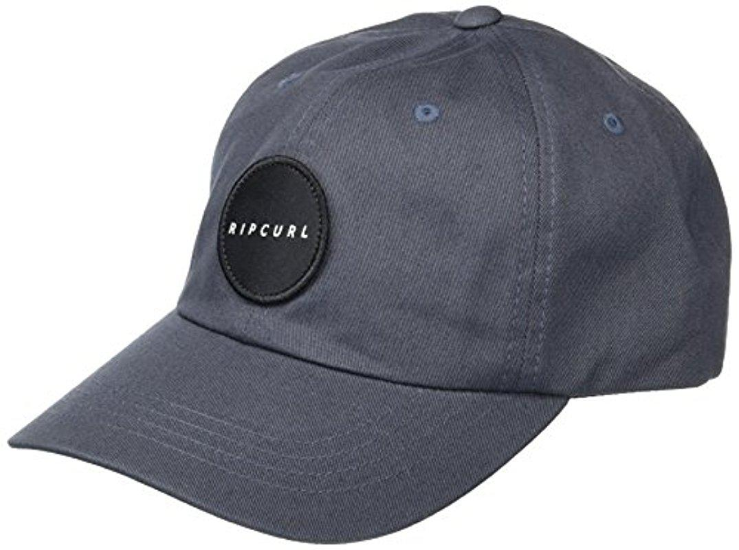 Lyst - Rip Curl Underground Surf Snapback Hat in Gray for Men f8d71808a19