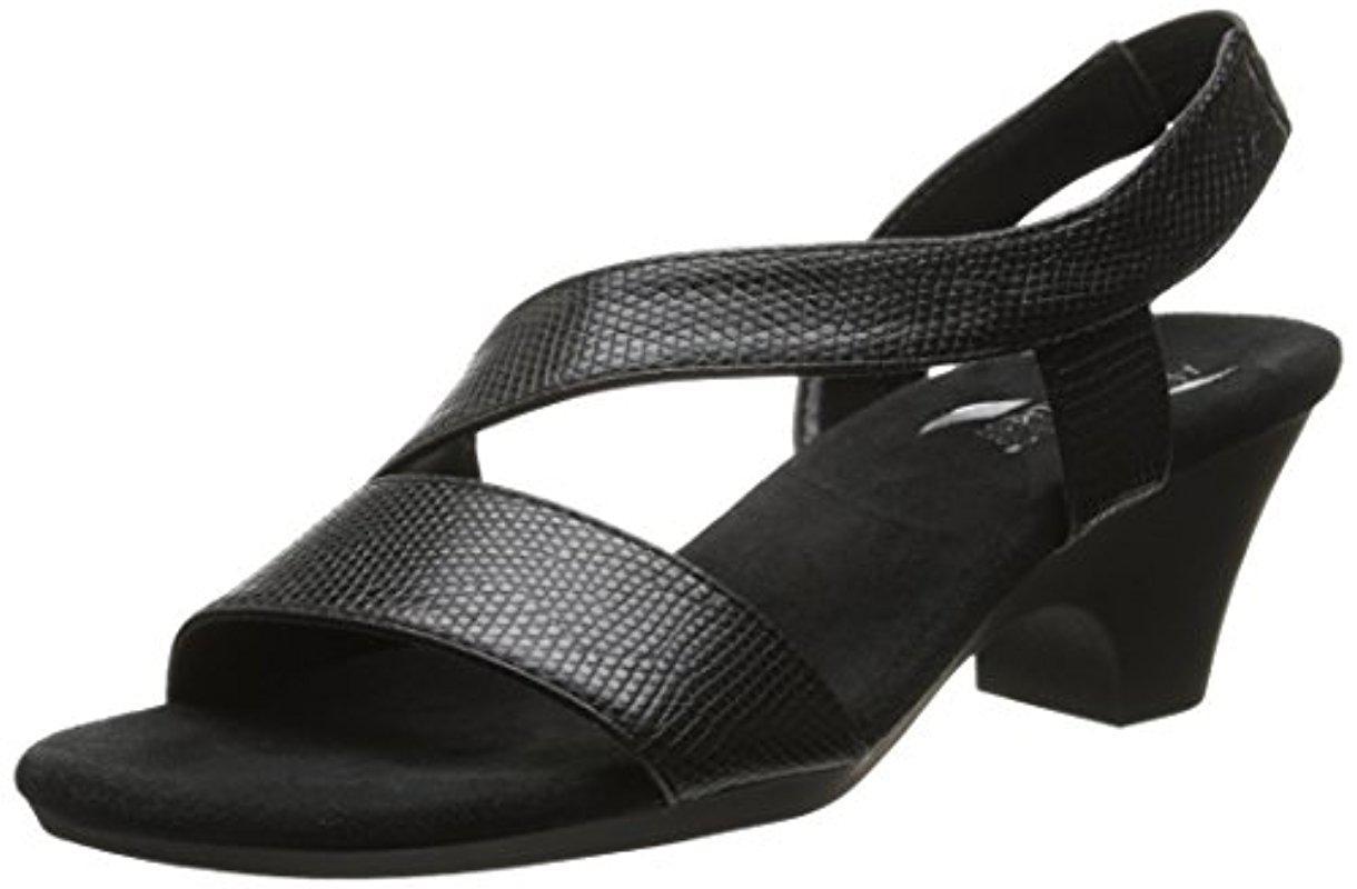 0462eec591f2 Lyst - Aerosoles Brasserie Dress Sandal in Black