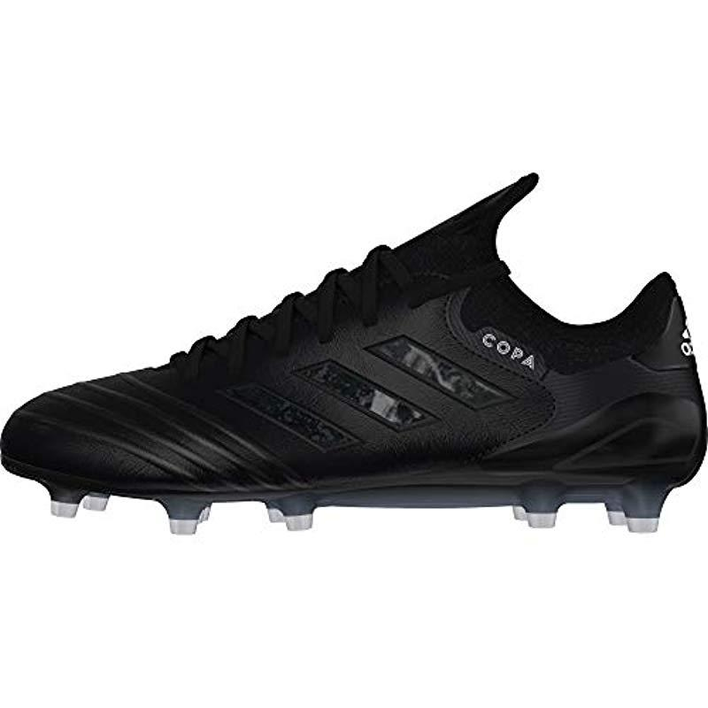 06782f5e0 adidas Copa 18.1 Fg Footbal Shoes in Black for Men - Lyst