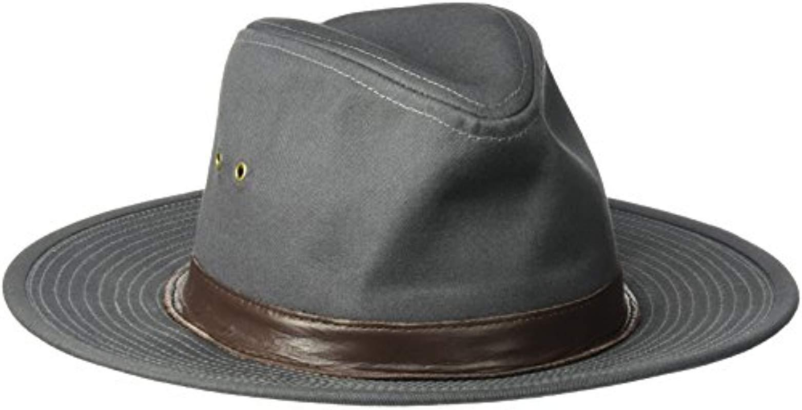 ba93f07bcc2 Lyst - Goorin Bros Florence Lake Weather Resistant Wide Brim Fedora ...
