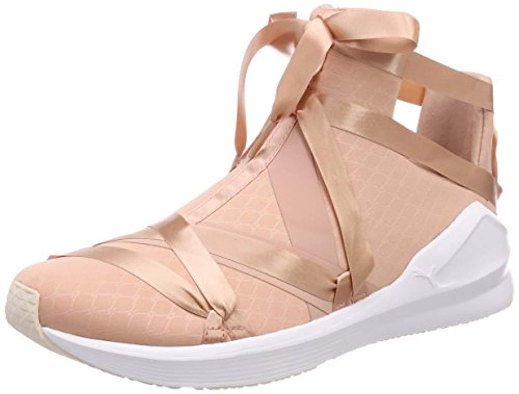 PUMA Fierce Rope Satin Ep Wn s Cross Trainers in Natural - Lyst 7ac48aabd