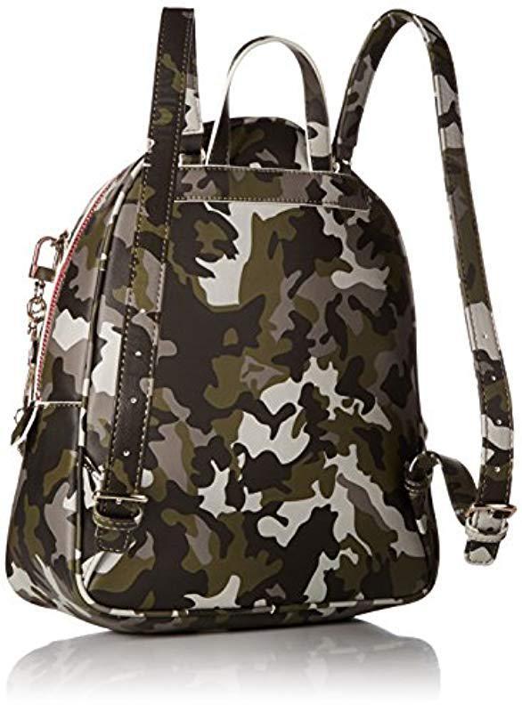 89595c92009d Lyst - Guess Womens Manhattan Camo Backpack