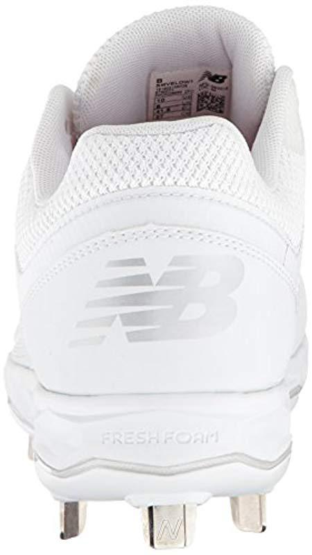 49976a89cb6 New Balance - White Velo V1 Metal Softball Shoe - Lyst. View fullscreen