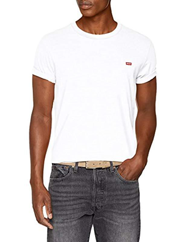 low priced 8d3dc 36705 Hm Ss Save Shirt 52 Levi s T Tee For Original Lyst White Men In wfddEq