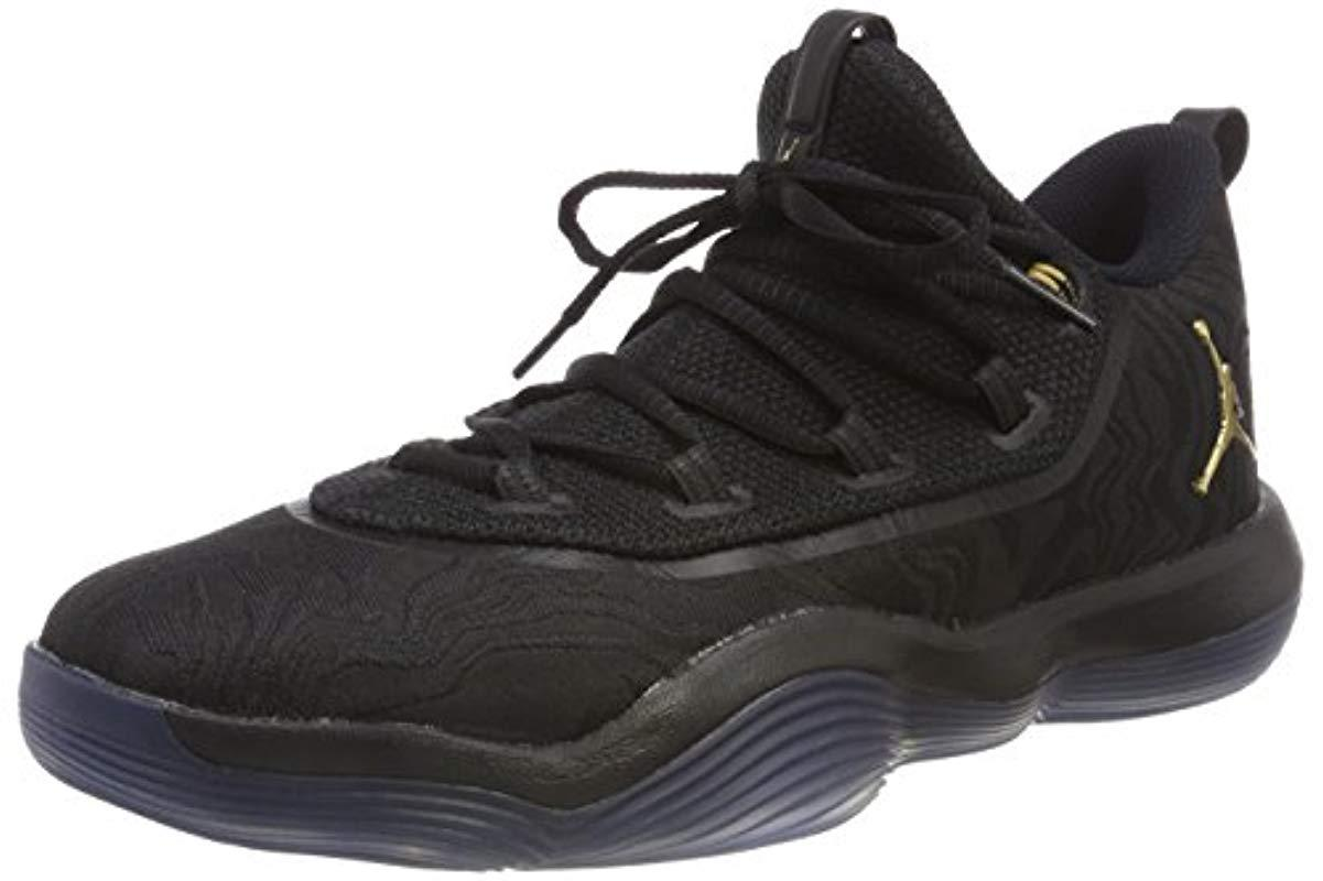 d5b2fcd522f3c Nike  s Jordan Super.fly 2017 Low Basketball Shoes in Black for Men ...