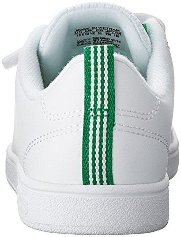 Lyst - adidas Kids  Vs Advantage Clean Sneaker in White e8197da410f8f