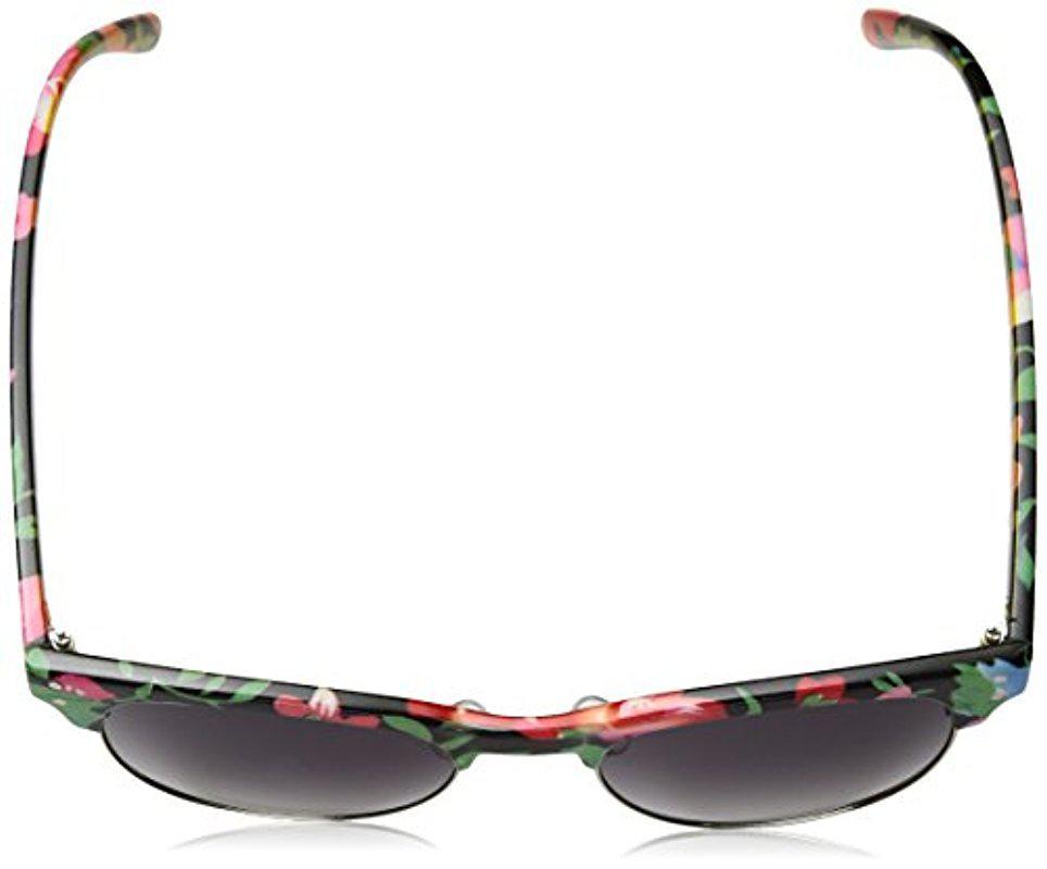 310f30f8ae Lyst - Sam Edelman Union Bay U282 Oxfl Square Sunglasses in Black