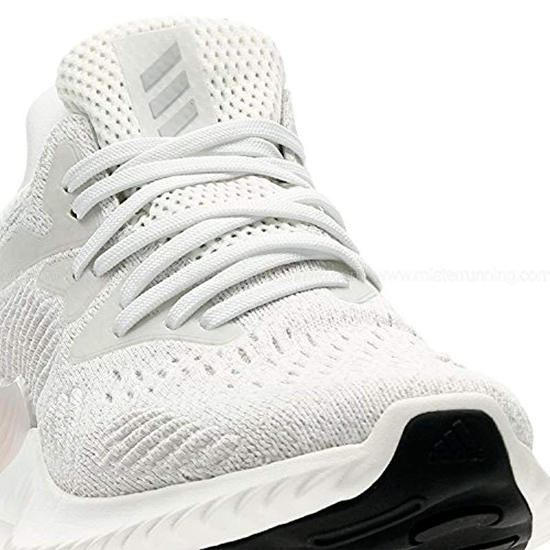 the latest fa019 6a2c8 Adidas - White Alphabounce Beyond Competition Running Shoes - Lyst. View  fullscreen