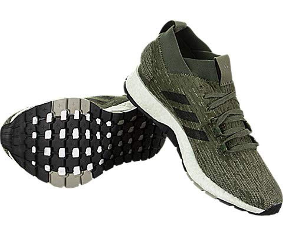 3ddf38956 Adidas - Green Pureboost Rbl for Men - Lyst. View fullscreen