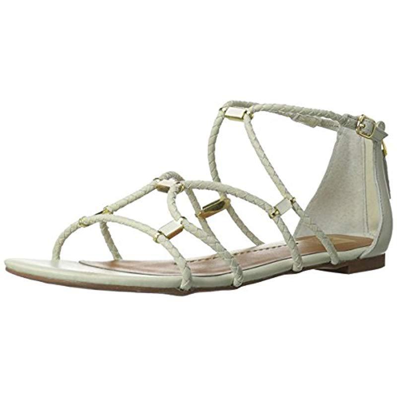 a526b2aab11d8c Lyst - Dv By Dolce Vita Agate Gladiator Sandal in Metallic