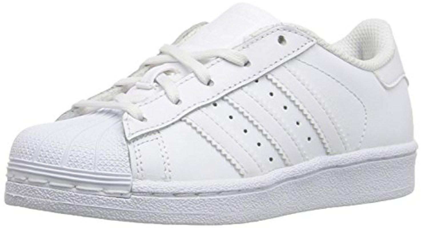 422955c0694cd adidas Originals Adidas Kids' Superstar Foundation El C Sneaker in ...
