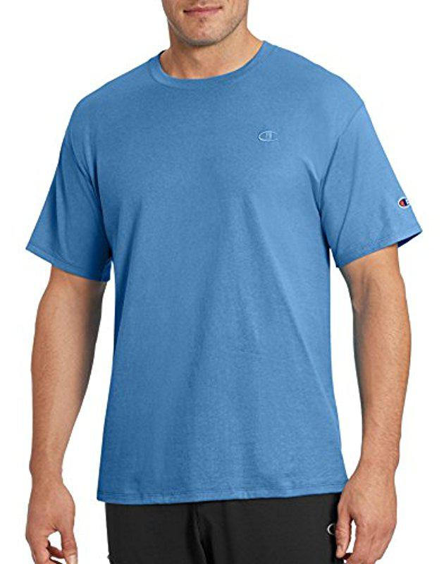 6c192d48 Lyst - Champion Classic Jersey T-shirt in Blue for Men - Save 41%