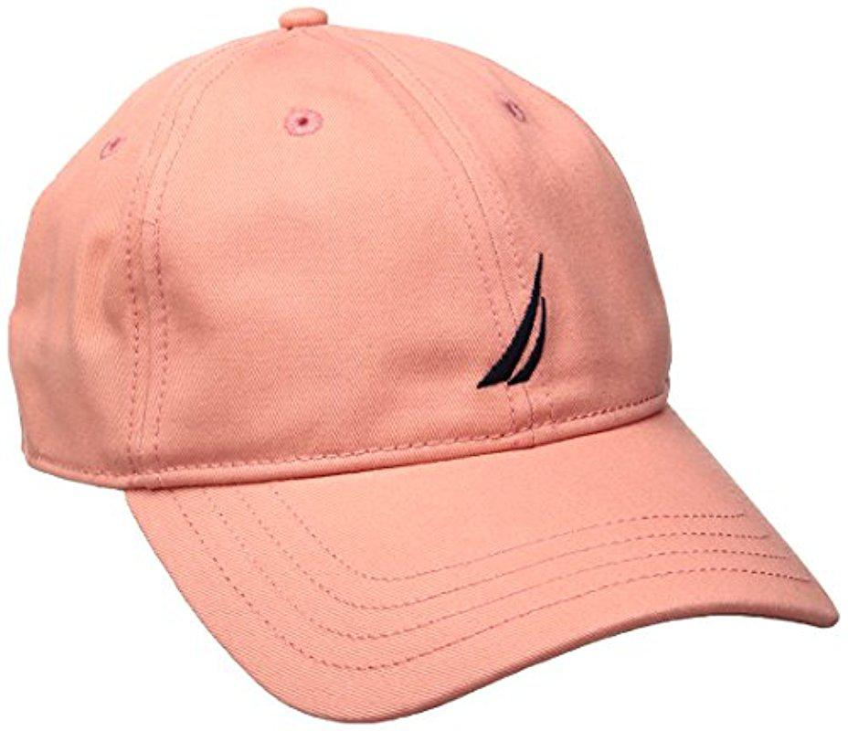 d6006eadf18 Lyst - Nautica J-class Hat in Pink for Men
