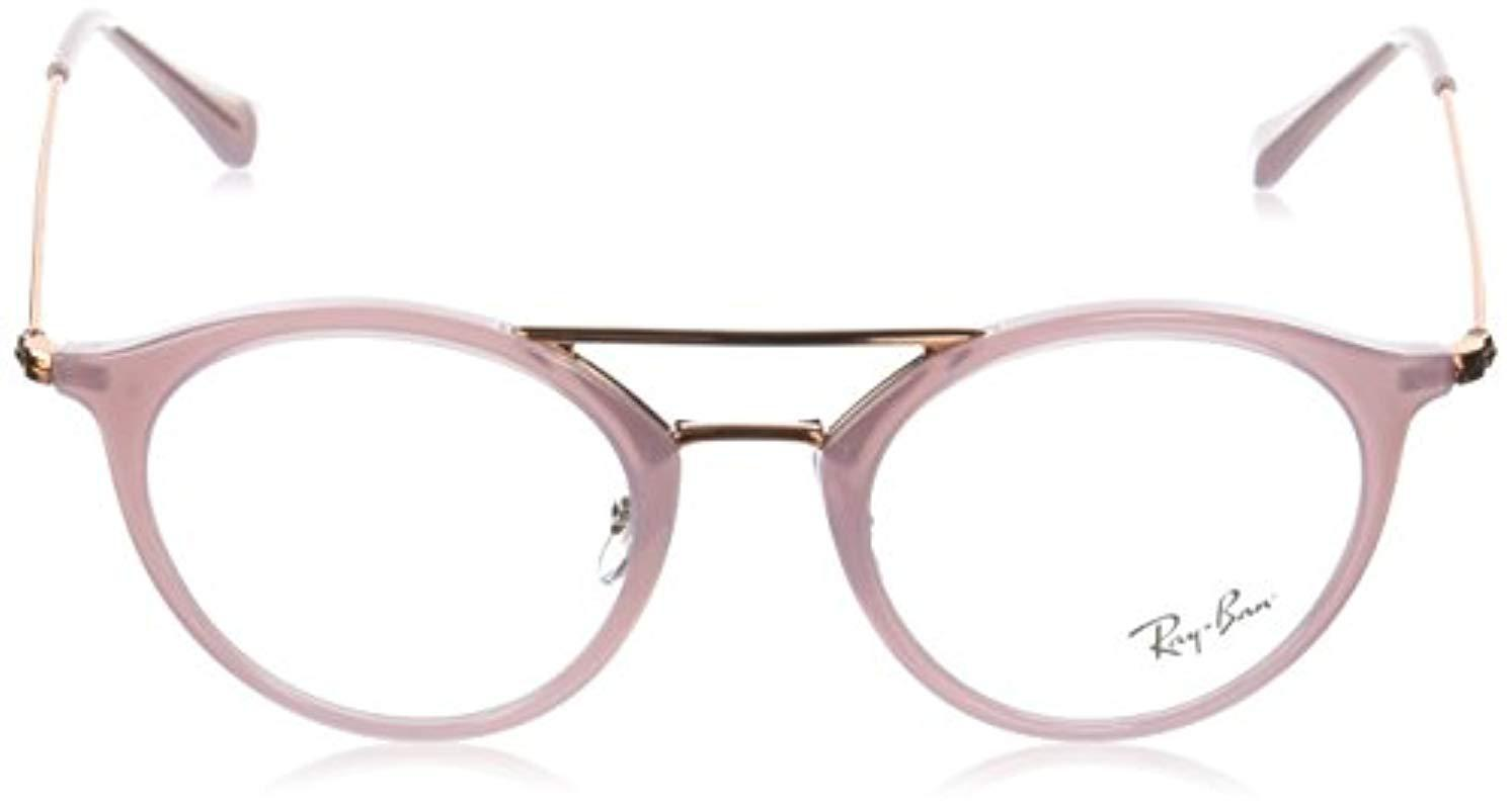ff2ccee4a5 Ray-Ban - Natural 0rx 7097 5726 47 Optical Frames