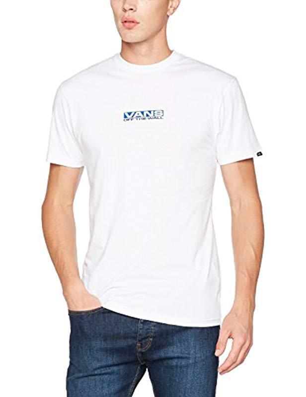 24915147 Vans - White Side Waze Ss T-shirt for Men - Lyst. View fullscreen