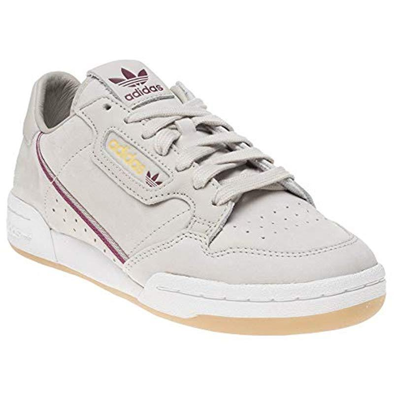 outlet store 2abea 4d9c7 ... low priced 55f85 a8a5a Adidas - Brown Continental 80 Gymnastics Shoes  White for Men - Lyst
