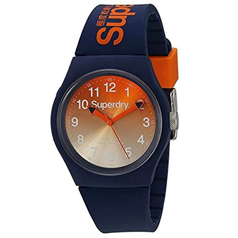 Lyst - Reloj Analógico de Cuarzo para Hombre con Correa de Silicona ... b3e1bb734837
