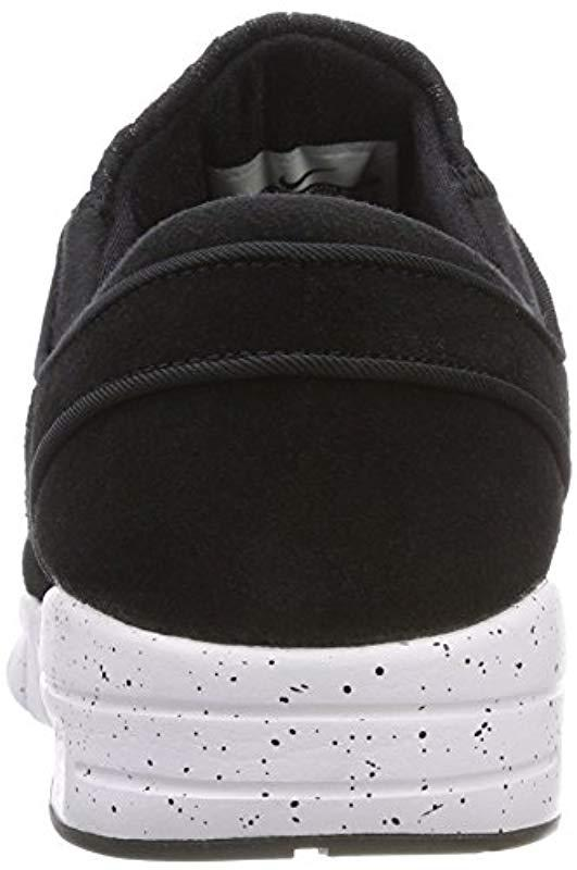 sports shoes 111e6 8f0c7 Nike. Men s Black Stefan Janoski Max L Skateboarding Shoes