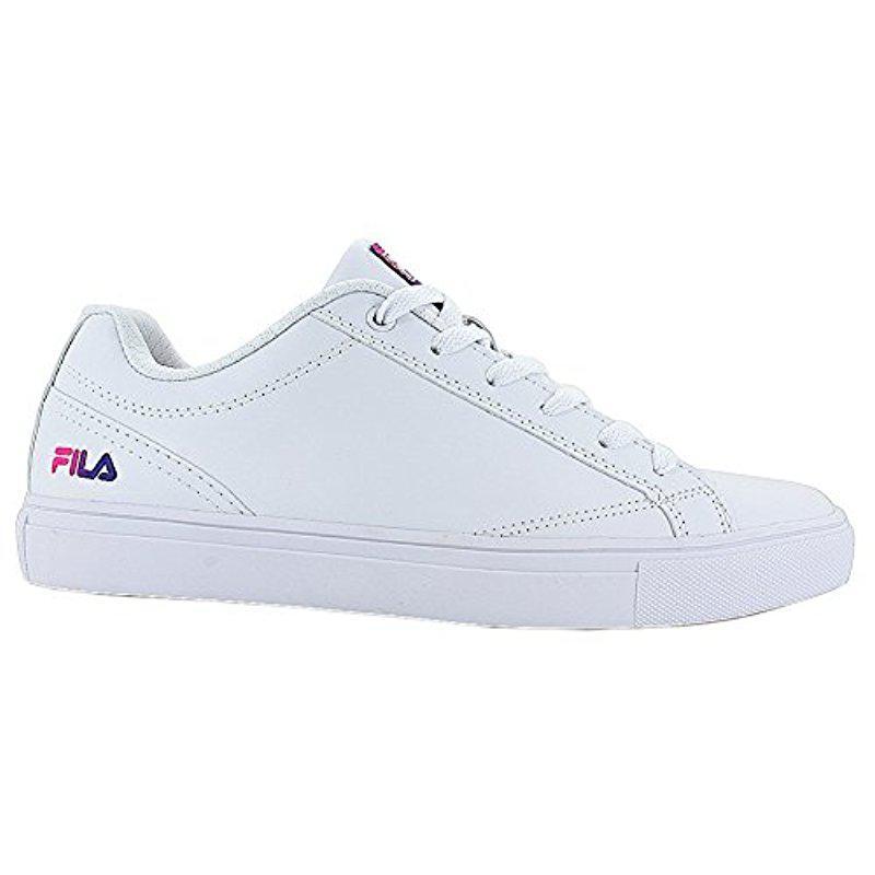 Lyst - Fila Amalfi 3 Walking Shoe in White d882e65de