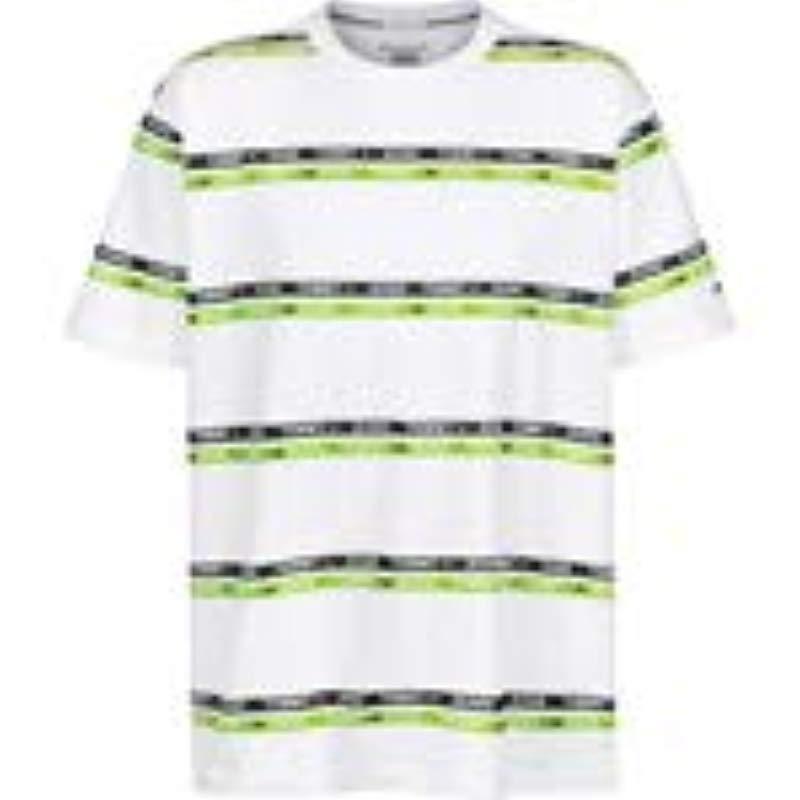 c8ead437 Tommy Hilfiger - White Tjm Signature Stripe Logo Tee T-shirt for Men -  Lyst. View fullscreen