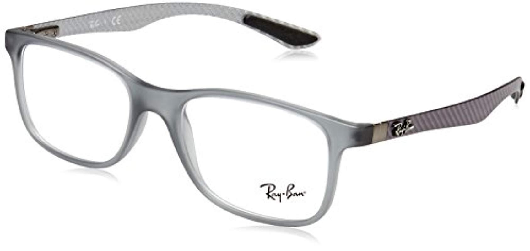 f5524e87c3 Ray-Ban. Men s Gray 0rx 8903 5244 55 Optical Frames ...