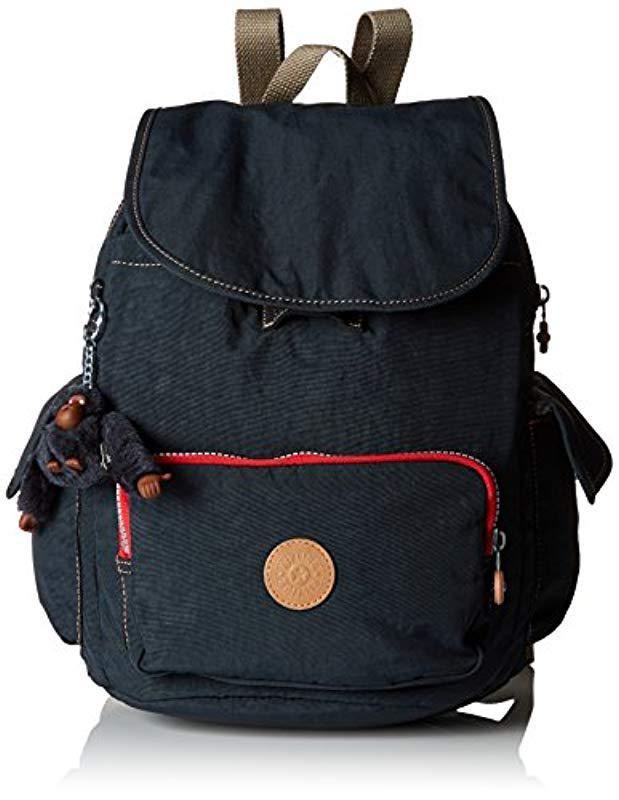 6d3d45689e Kipling. Women s Blue Basic City Pack S 18 Backpack ...