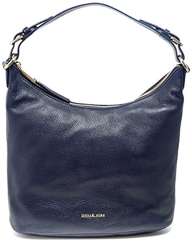 Michael Kors S Lupita Shoulder Bag in Blue - Lyst c8a29497a9