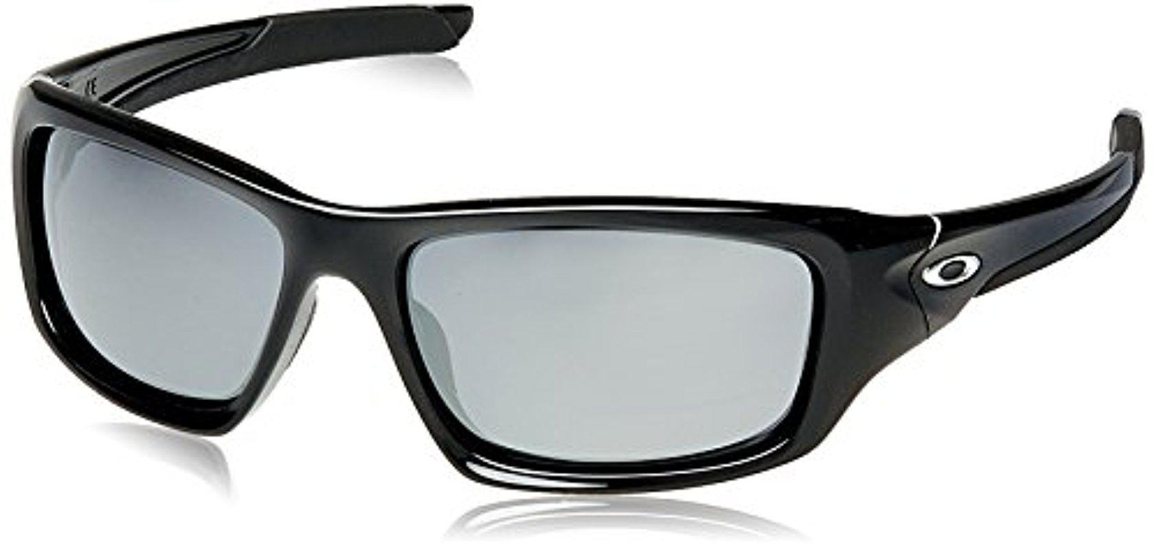 e804eb2d8a8 Lyst - Oakley Valve Non-polarized Iridium Rectangular Sunglasses in ...