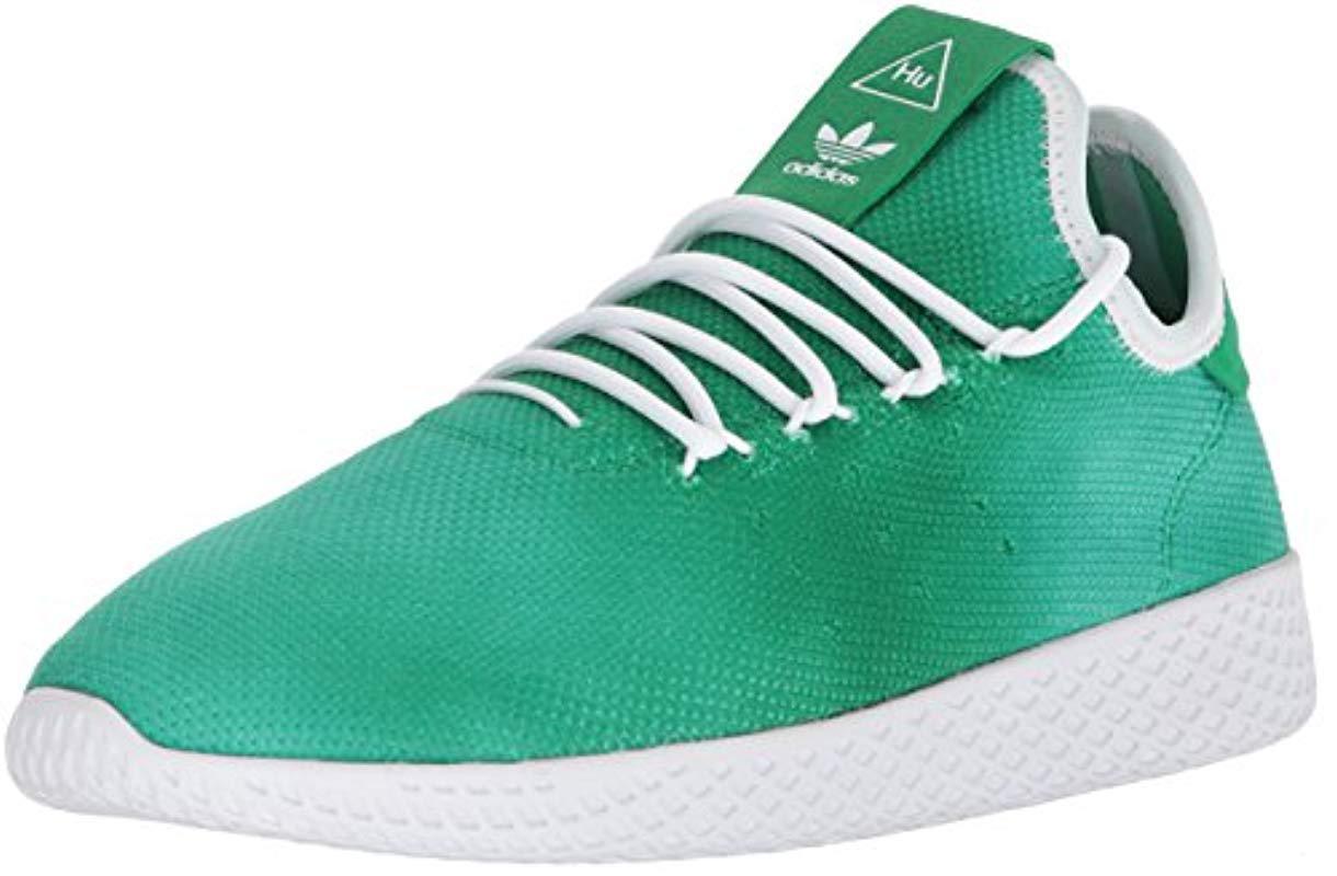 0cd1f4ff121 Lyst - adidas Originals Pw Holi Tennis Hu Running Shoe in Green for ...