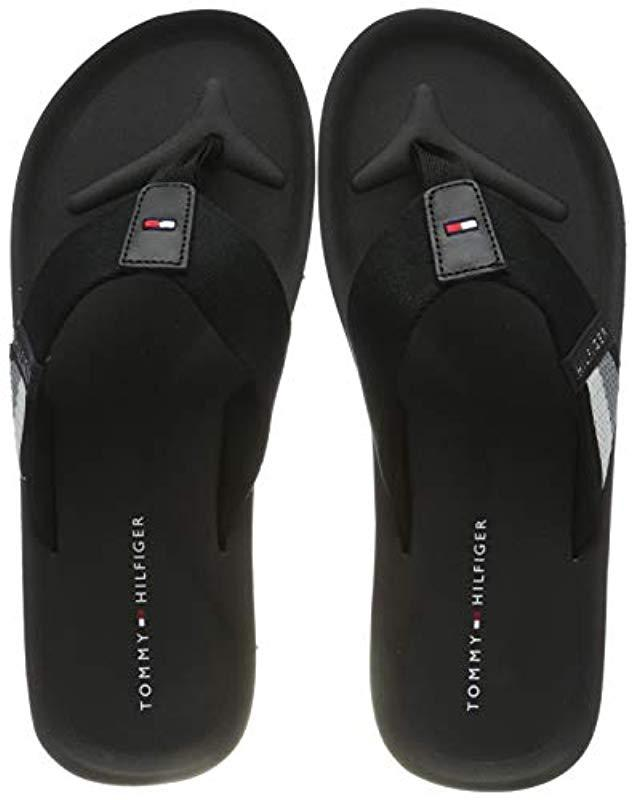 d71d57d7b Tommy Hilfiger - Corporate Stripe Beach Sandal Flip Flops