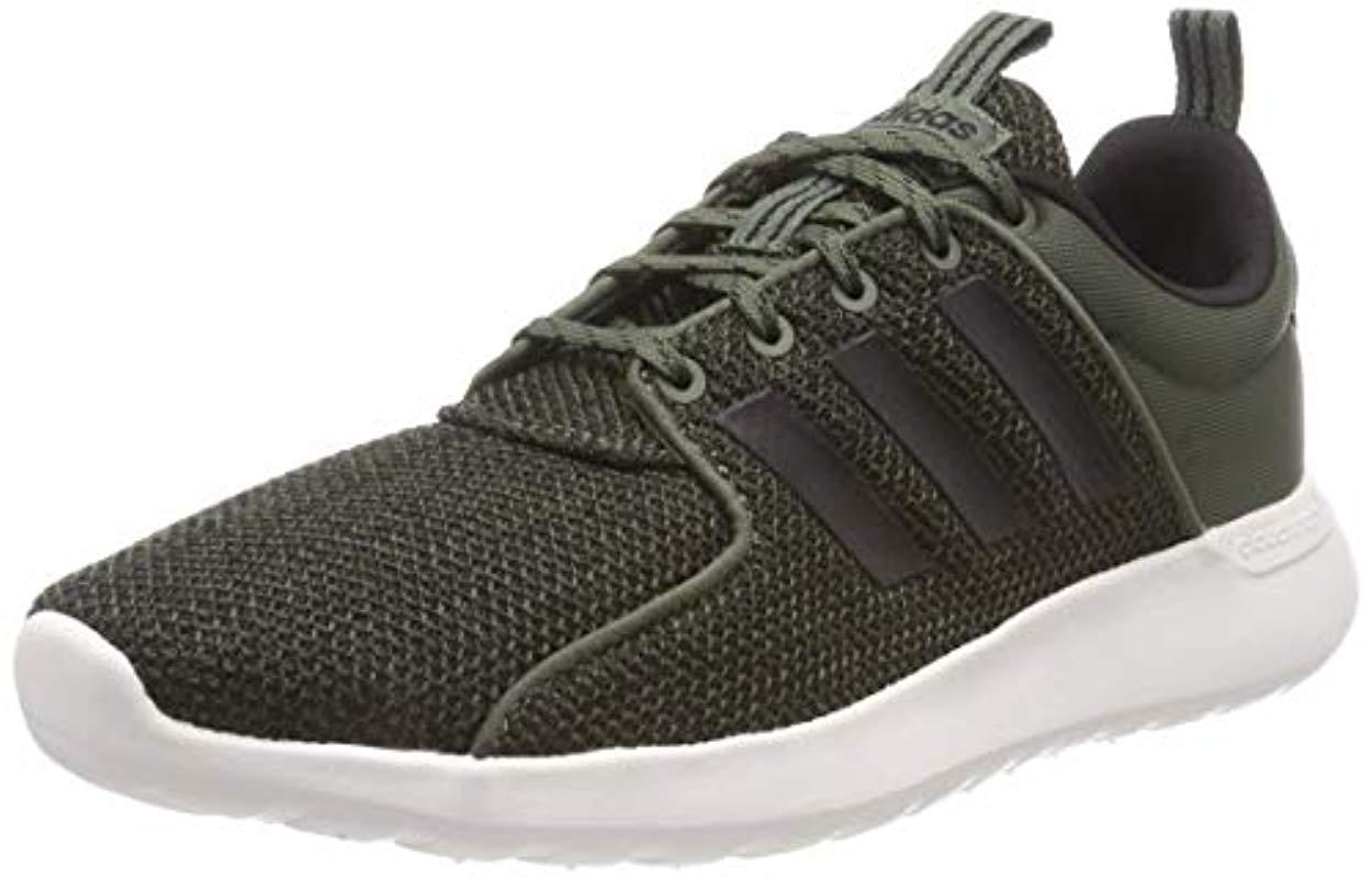 detailed look 72dc3 ef973 adidas. Mens Green s Cf Lite Racer Gymnastics Shoes
