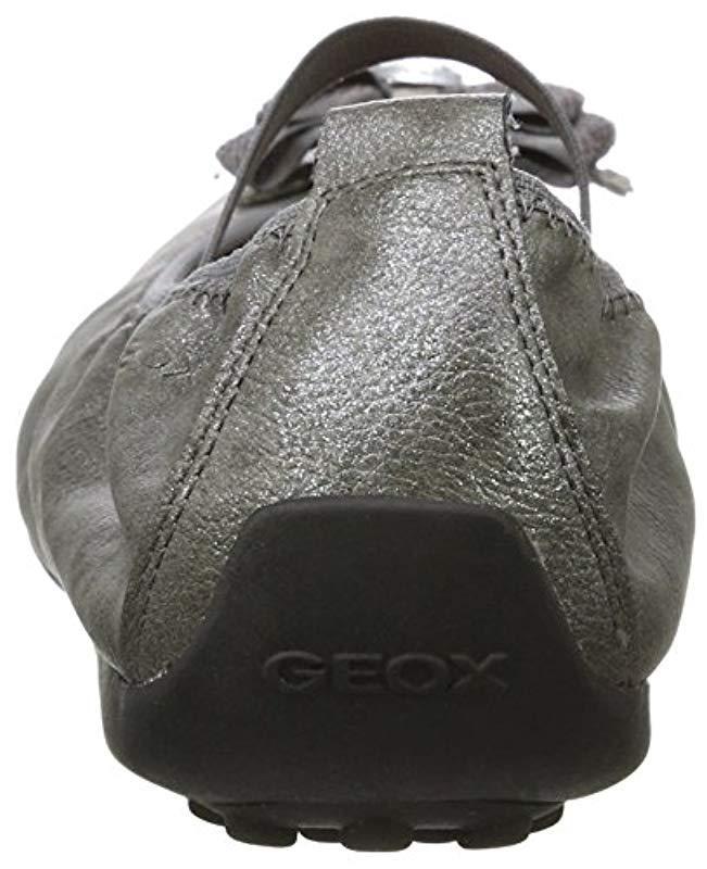b6e0faa18 Geox Unisex Adults  Jr Piuma Ballerine G Closed Toe Sandals in Gray - Lyst