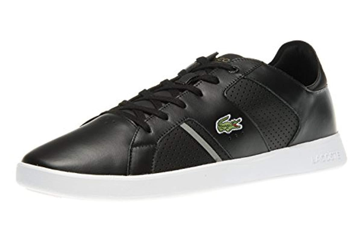 d43aa9df09fdf2 Lacoste Novas Ct 118 1 Spm Trainers in Black for Men - Lyst