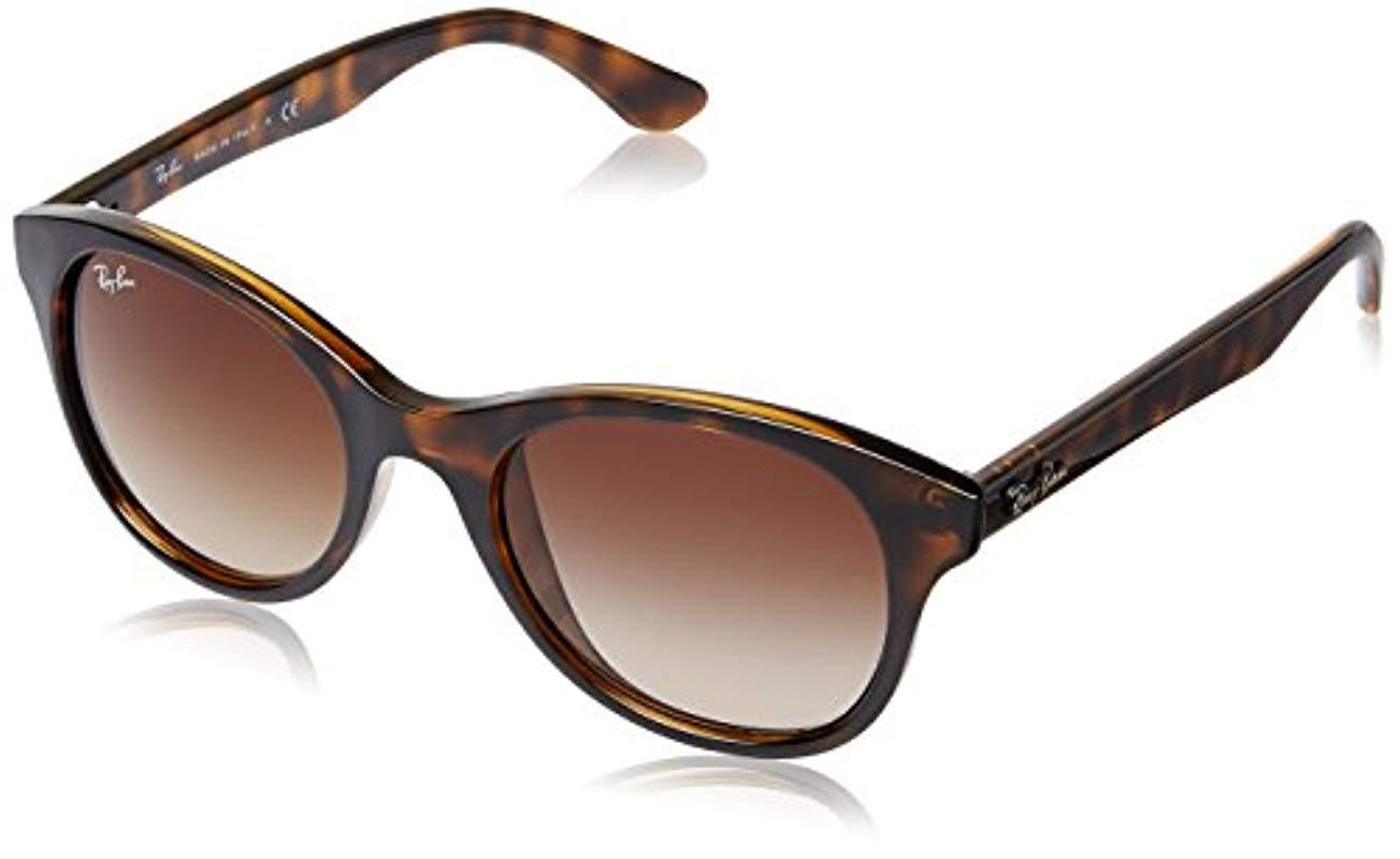 7dbb96002d Ray-Ban Unisex Sunglasses Rb4203 in Brown - Lyst