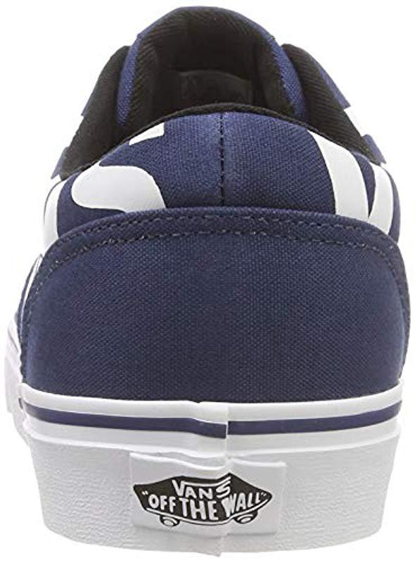 29c7fe61c9f5e0 Vans - Blue  s Doheny Big Logo Low-top Sneakers for Men - Lyst. View  fullscreen