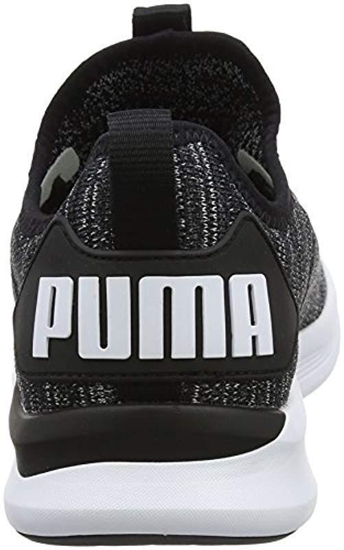 1b8d67193273 PUMA - Ignite Flash Evoknit ( Black asphalt  White) Men s Shoes for Men.  View fullscreen