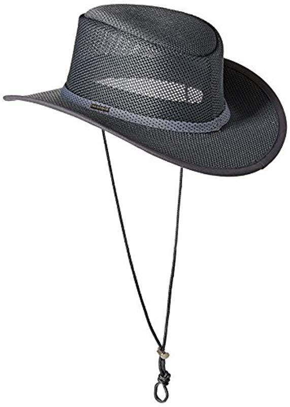a09e759797cb7 Stetson - Gray Mesh Covered Hat for Men - Lyst. View fullscreen