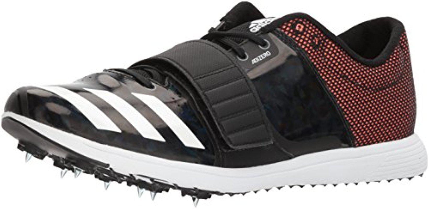 Lyst adidas adizero TJ / PV zapatilla de corriendo con picos en negro