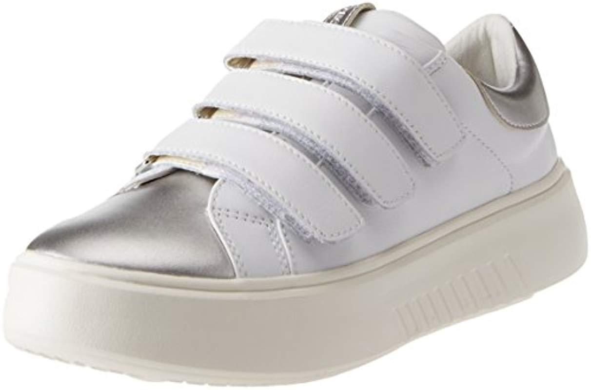 Geox D Nhenbus C Trainers in White - Lyst adcf036cf22