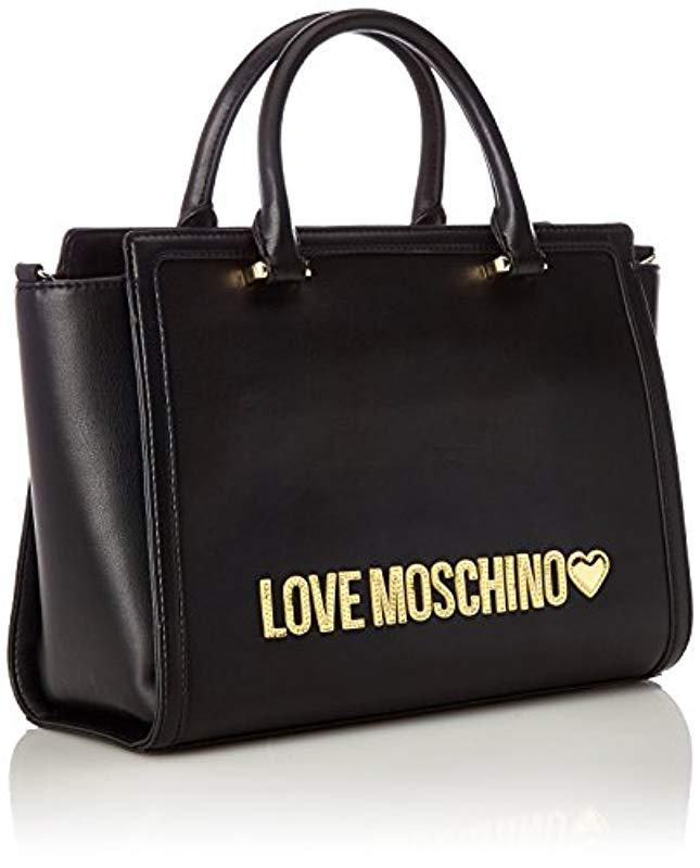 reputable site 9c911 4d78f love-moschino-Multicolour-Black-gold-Borsa-A-Mano-Jc4214pp05-Ka0-00b-Jc4214pp05-Ka0.jpeg