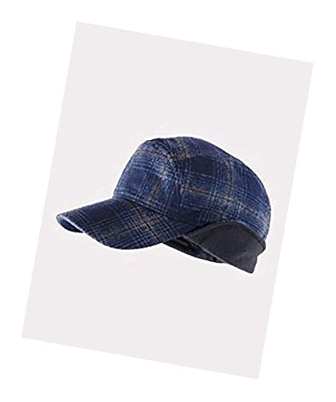 4a50dc11d7e Lyst - Pendleton Timberline Wool Cap in Blue for Men