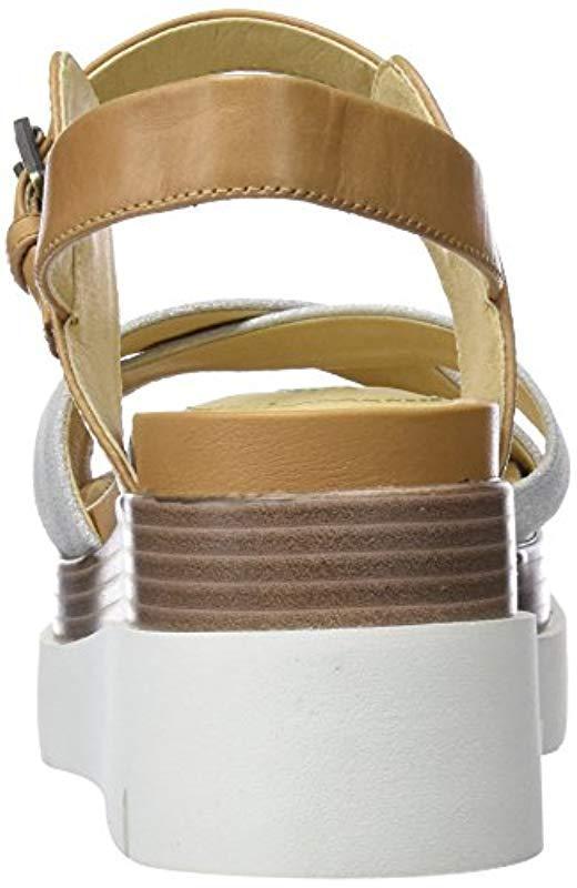 Geox - Brown D Radwa C Platform Sandals - Lyst. View fullscreen 7367b98f737